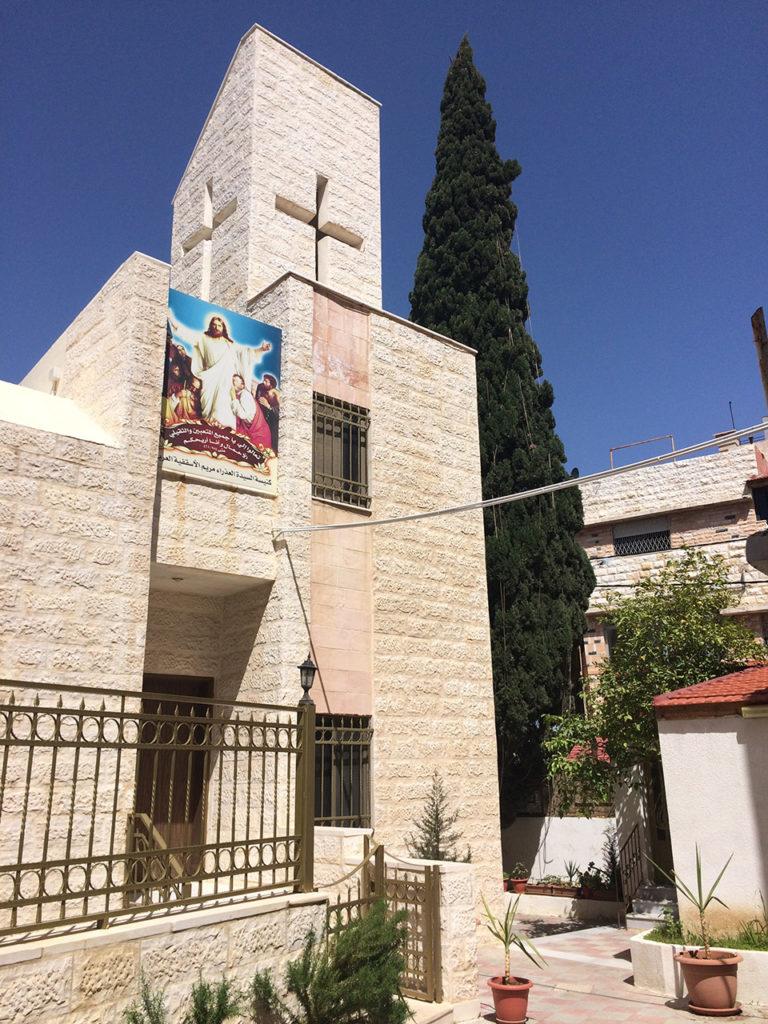 Die Kirche bei der AES